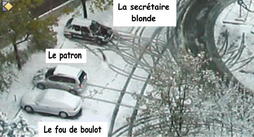 La Parking Citation >> CITATIONS LA NEIGE et PHOTORAMA - MA CHIENNE DE VIE